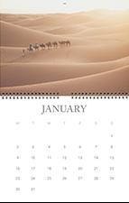 calendar de perete pliabil